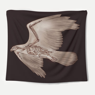Feather Skeleton Tapestry