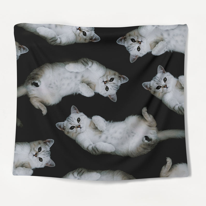 Feline Friends Tapestry