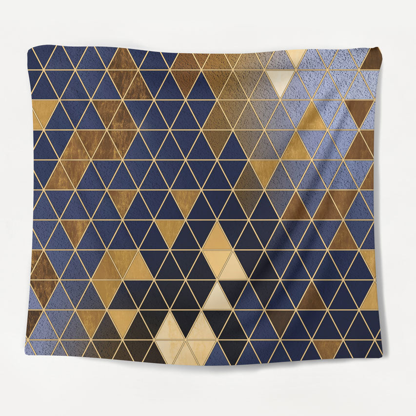 Golden Patterns Tapestry