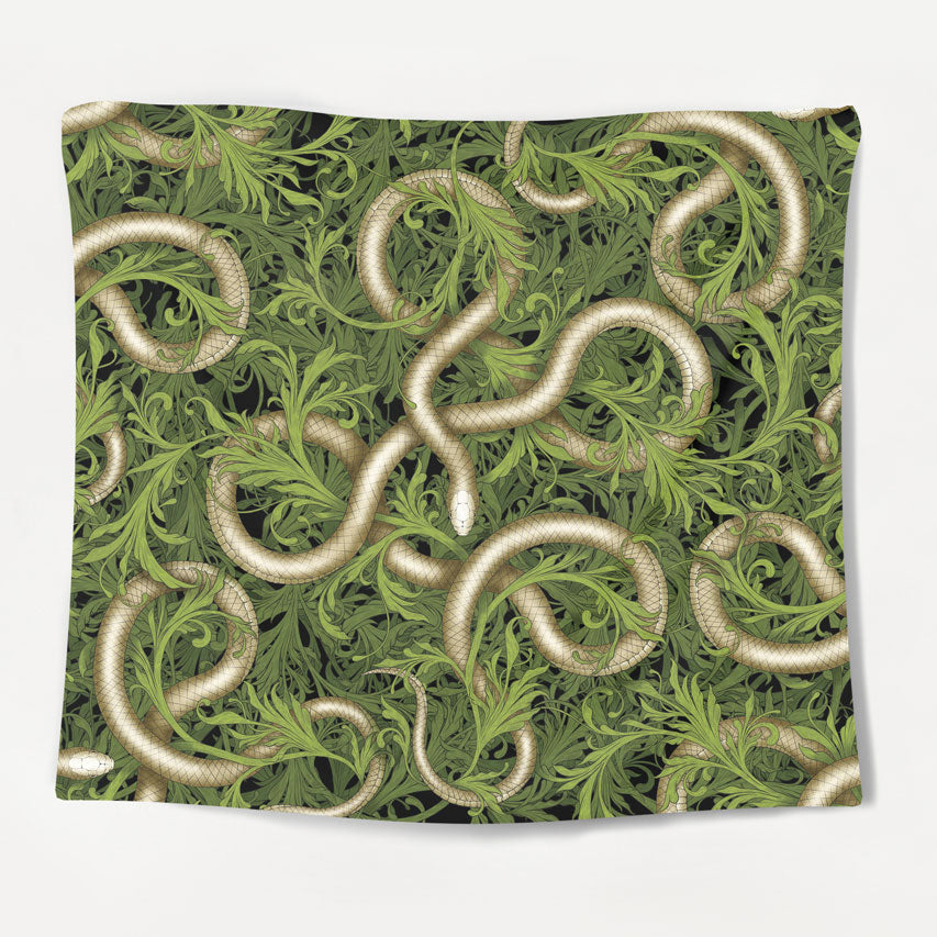Jungle Snake Tapestry