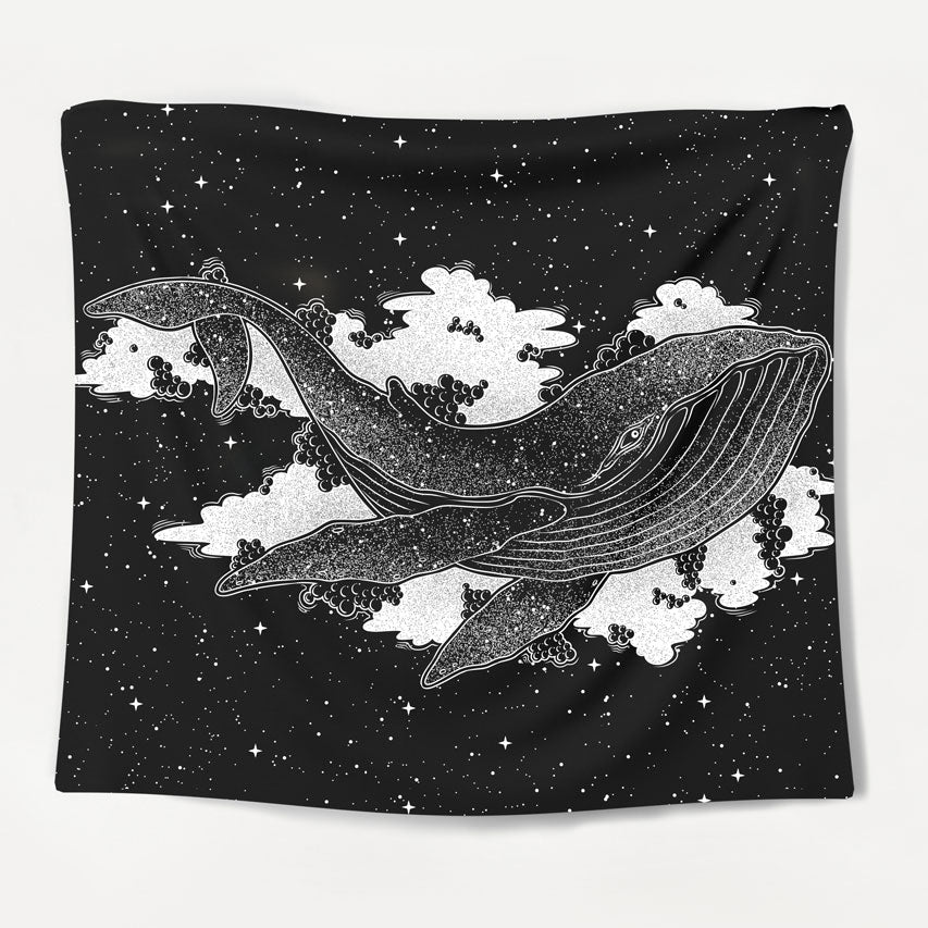 Majestic Whale Tapestry