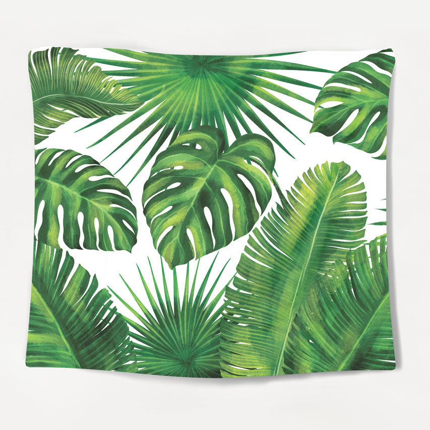 Minimal Jungle Tapestry