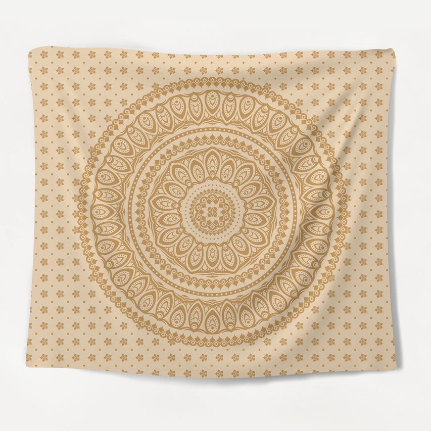 Natural Mandala Tapestry