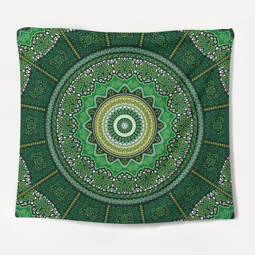 Nature Forest Mandala Tapestry