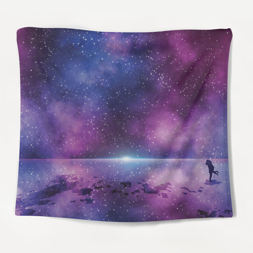 Night's Horizon Tapestry
