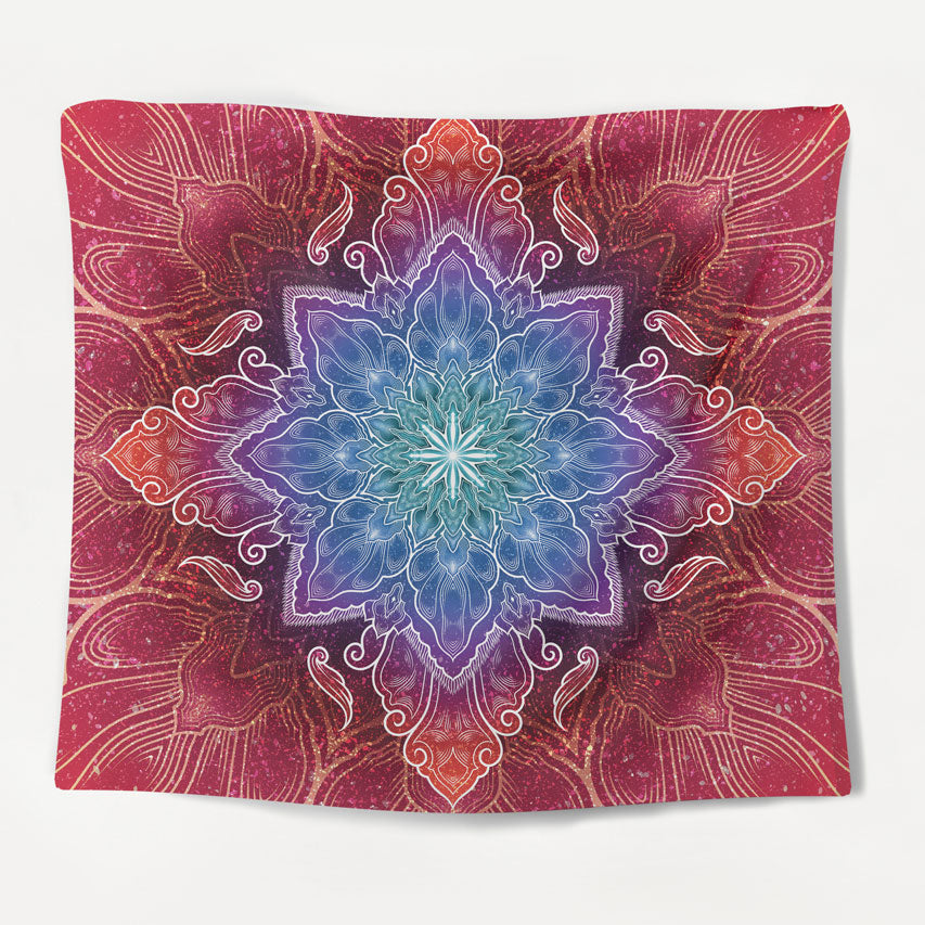Psychedelic Chakra Tapestry