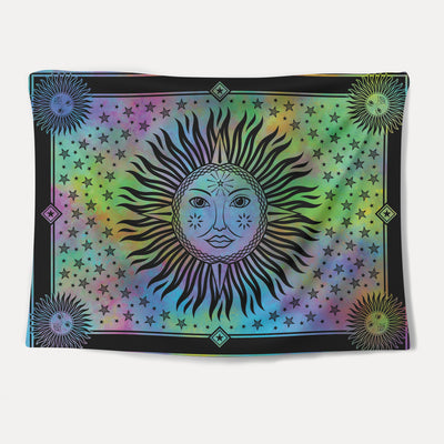 Rainbow Sol Tapestry