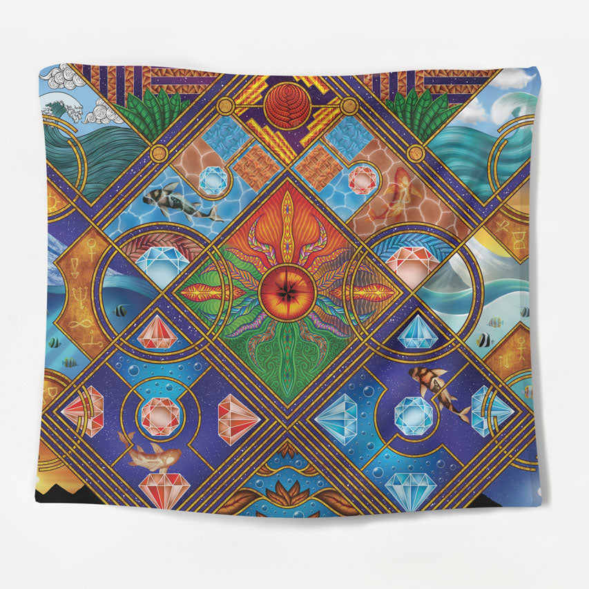 Surreal Journeys Tapestry