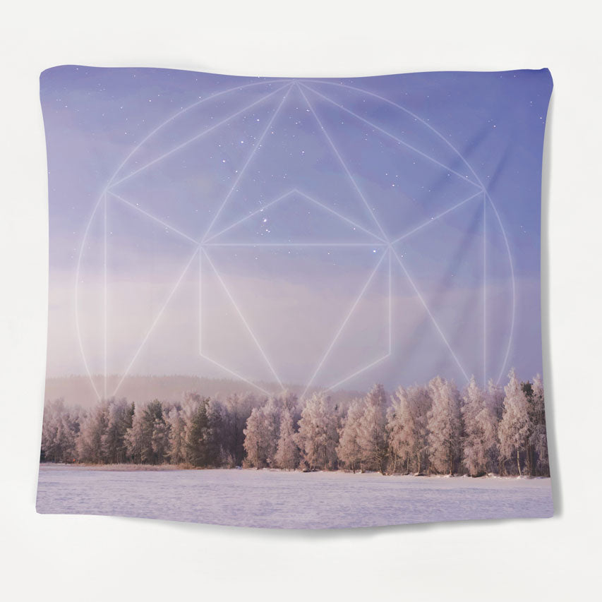 Winter Forest Tapestry