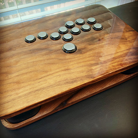 "Walnut ""stickless"" controller"