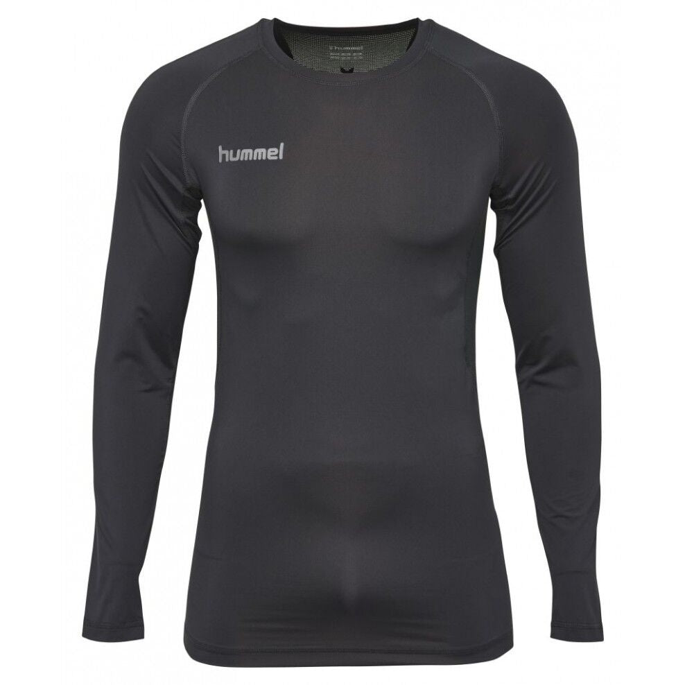 Baselayer top, barn (sort)