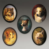 """Dogs of the Soviet Space Program"" Additional Locket Images"