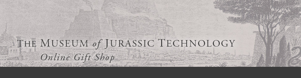 Museum of Jurassic Technology Gift Shop
