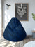 """83"" Momento XXL Leatherette Bean Bag (Blue)"