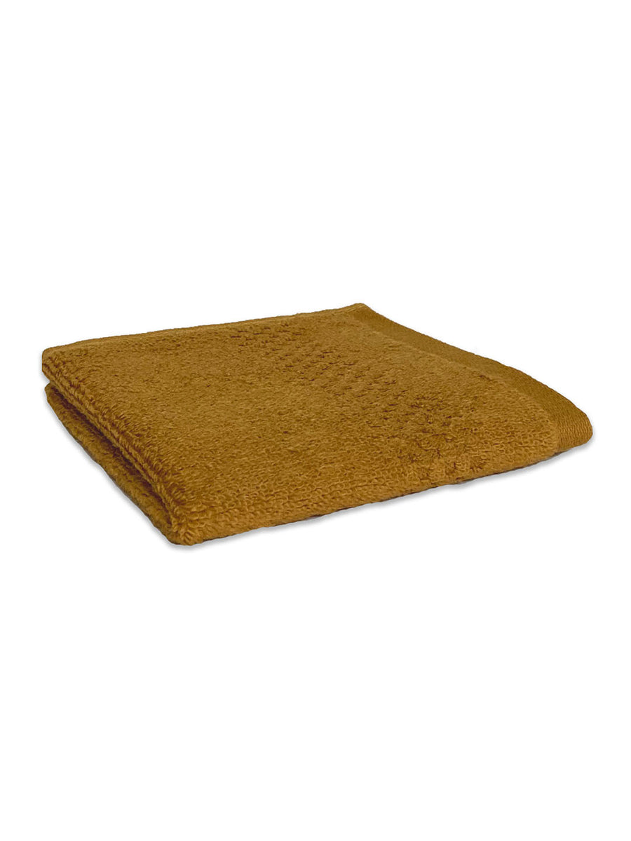 Spaces Swift Dry Golden Small Face Towel (Gold)