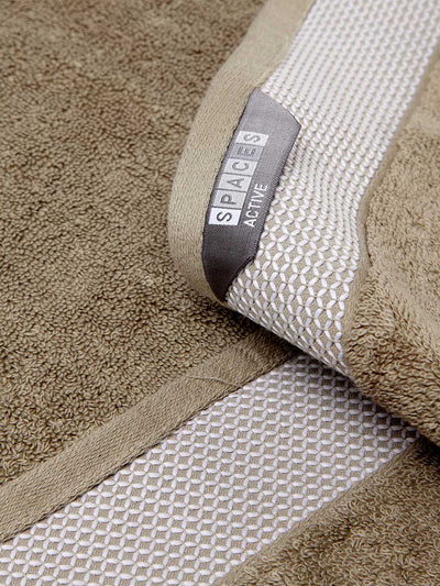 Spaces Hygro Taupe Bath Towel (Beige)