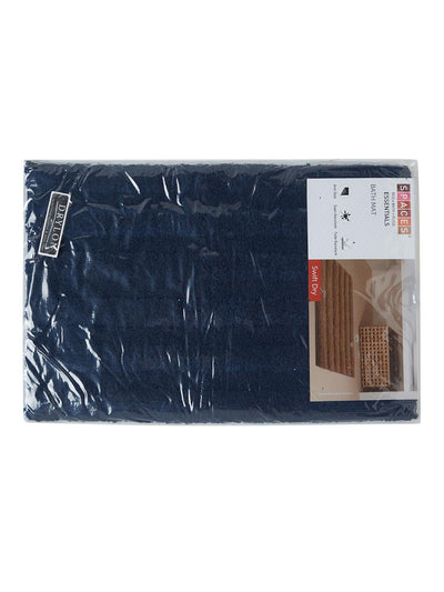 Spaces Swift Dry Silver Bath Mat (Blue)