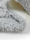 Spaces Swift Dry Silver Bath Mat (Silver)