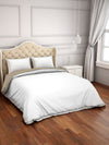 Spaces Hygro 300 TC Cotton Double Duvet Cover (White)