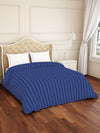 Spaces Skyrise 210 TC Cotton Double  Duvet Cover (Blue)
