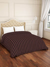 Spaces Skyrise 210 TC Cotton Double  Duvet Cover (Brown)