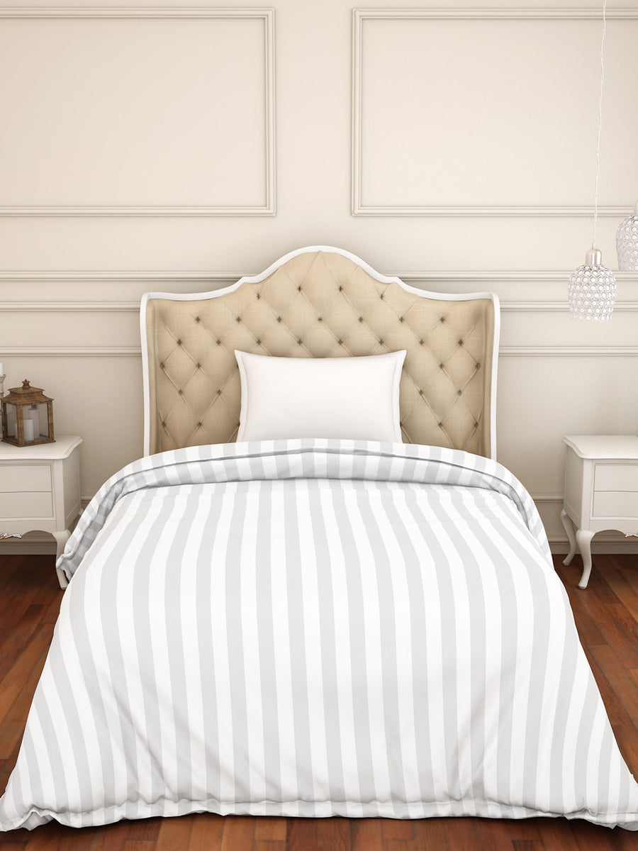 Spaces Skyrise 210 TC Cotton Single  Duvet Cover (White)