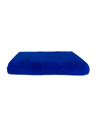 Spaces Swift Dry 450 GSM Solid Large Bath Towel (Blue)