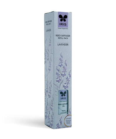 Iris Rd Refill Pack Lavender( Clear)