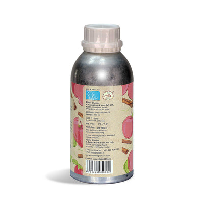 Iris Rd Oil Con Apple Cinnamon 500Ml( Silver Aluminium Can)