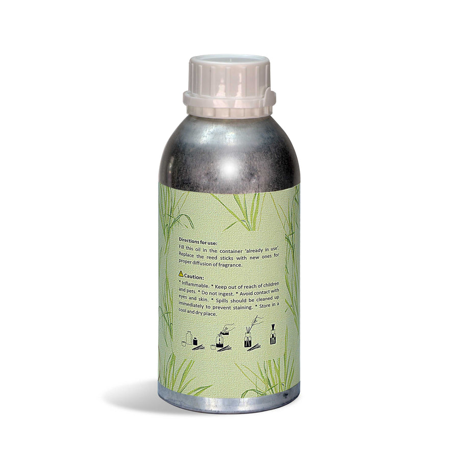 Iris Rd Oil Con Lemon Grass 500Ml( Silver Aluminium Can)