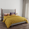 Boutique Living 200 TC King Size Solid+Digital Double Bedsheet Sheet With 2 Pillow Covers