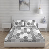 Boutique Living 200 TC Printed Double Bedsheet With 2 Pillow Covers