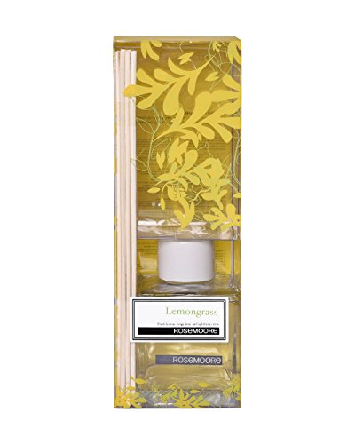 Rosemoore Lemongrass Scented Reed Diffuser (Yellow)