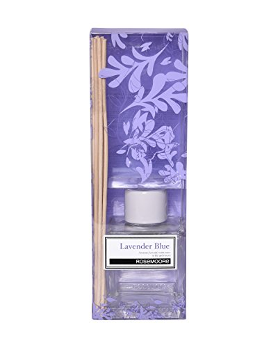 Rosemoore Lavender Scented Reed Diffuser (Blue)