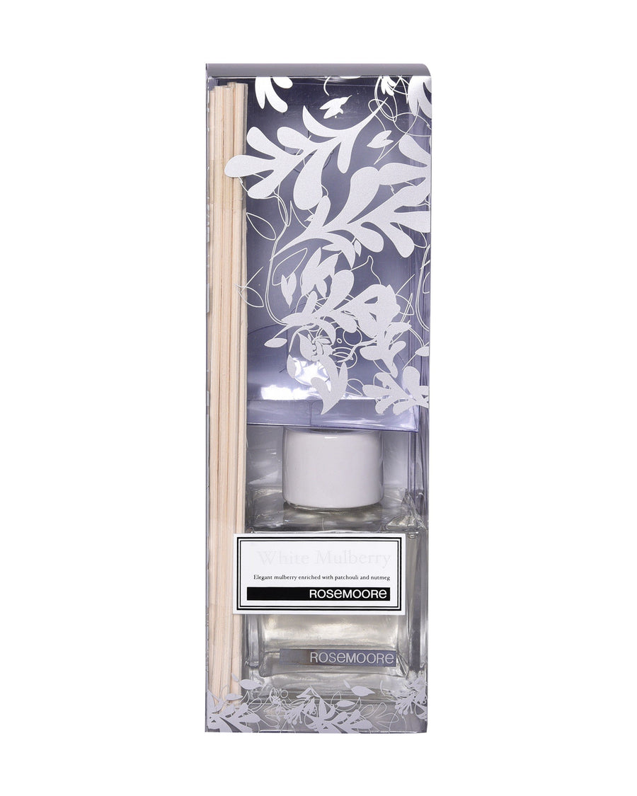 Rosemoore Mulberry Scented Reed Diffuser (White)
