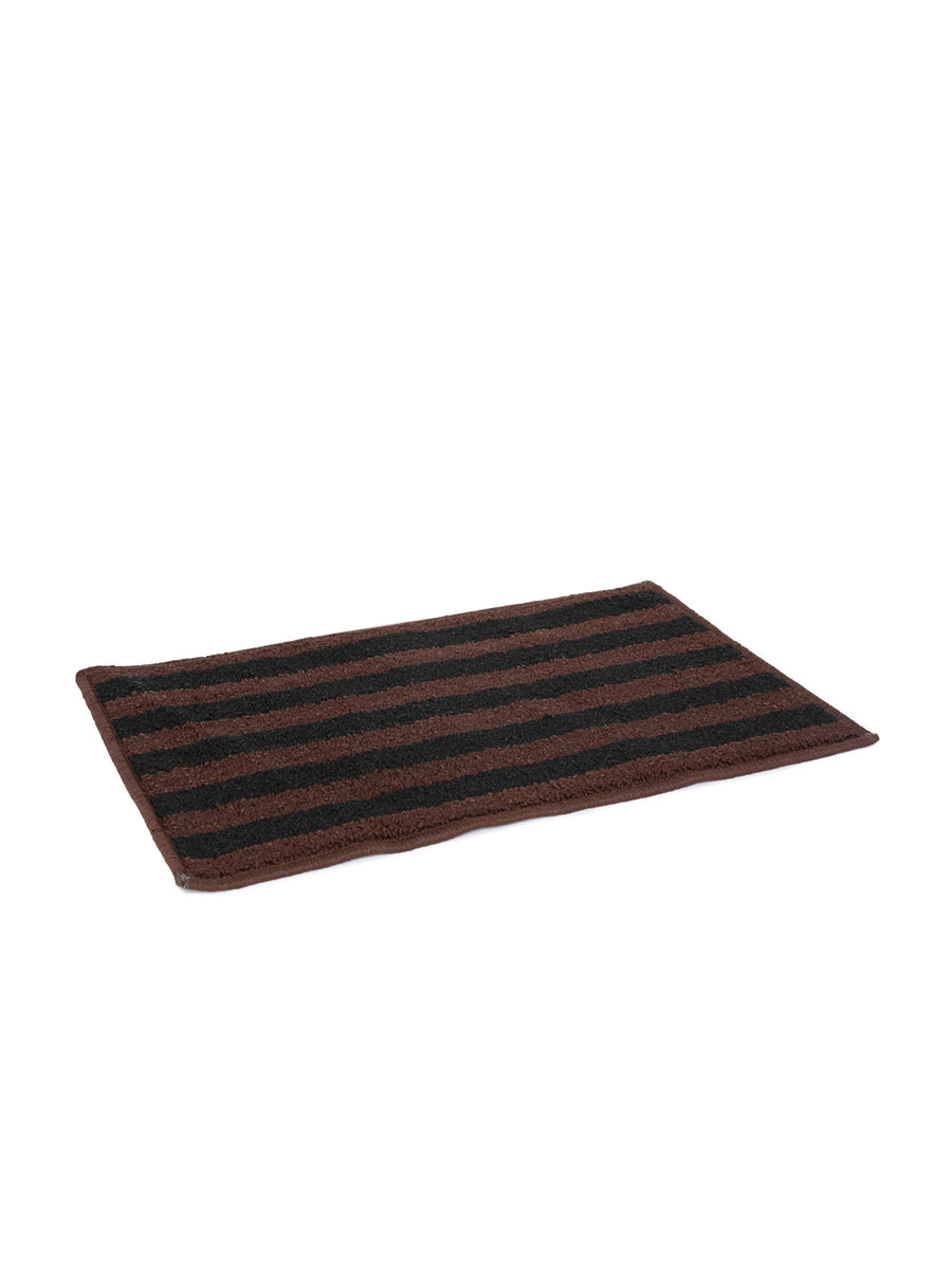 New Stripe Doormat (Brown & Black)