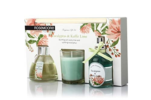 Rosemoore E & K Lime Scented Fragrance Set (Multicolor)