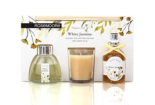 Rosemoore Jasmine Scented Fragrance Set (Multicolor)