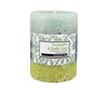 Rosemoore E & K Lime Scented Pillar Candle (Green)