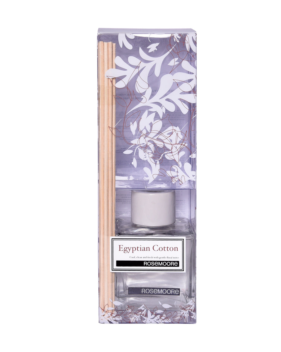 Rosemoore Egyptian Cotton Scented Reed Diffuser (White)