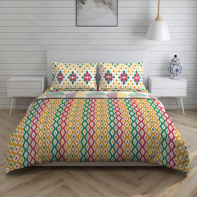 Boutique Living 144 TC Printed Layers Bed In A Bag