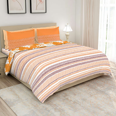 Boutique Living 148 TC Layers Printed Bed In A Bag