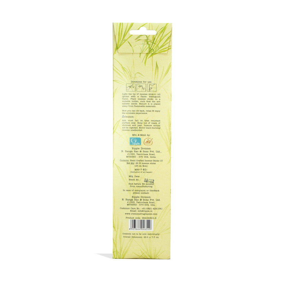 Iris Speciality Incense Lemon grass( Lemon)