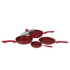 Wonderchef Royal Velvet Red Set of 4Pcs