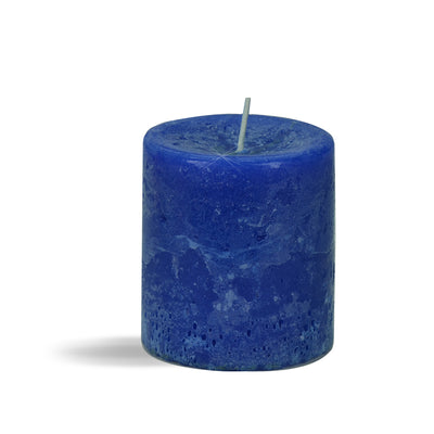 Iris Rustic Finish Pillar Cdl( Blue)