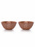 Roxx Delma Bowl 2 Pieces Set (Silver, Copper, Gold)