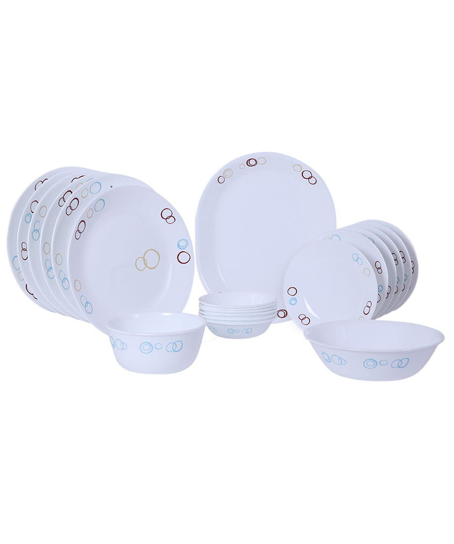 Corelle Circle 21 pcs Dinner Set