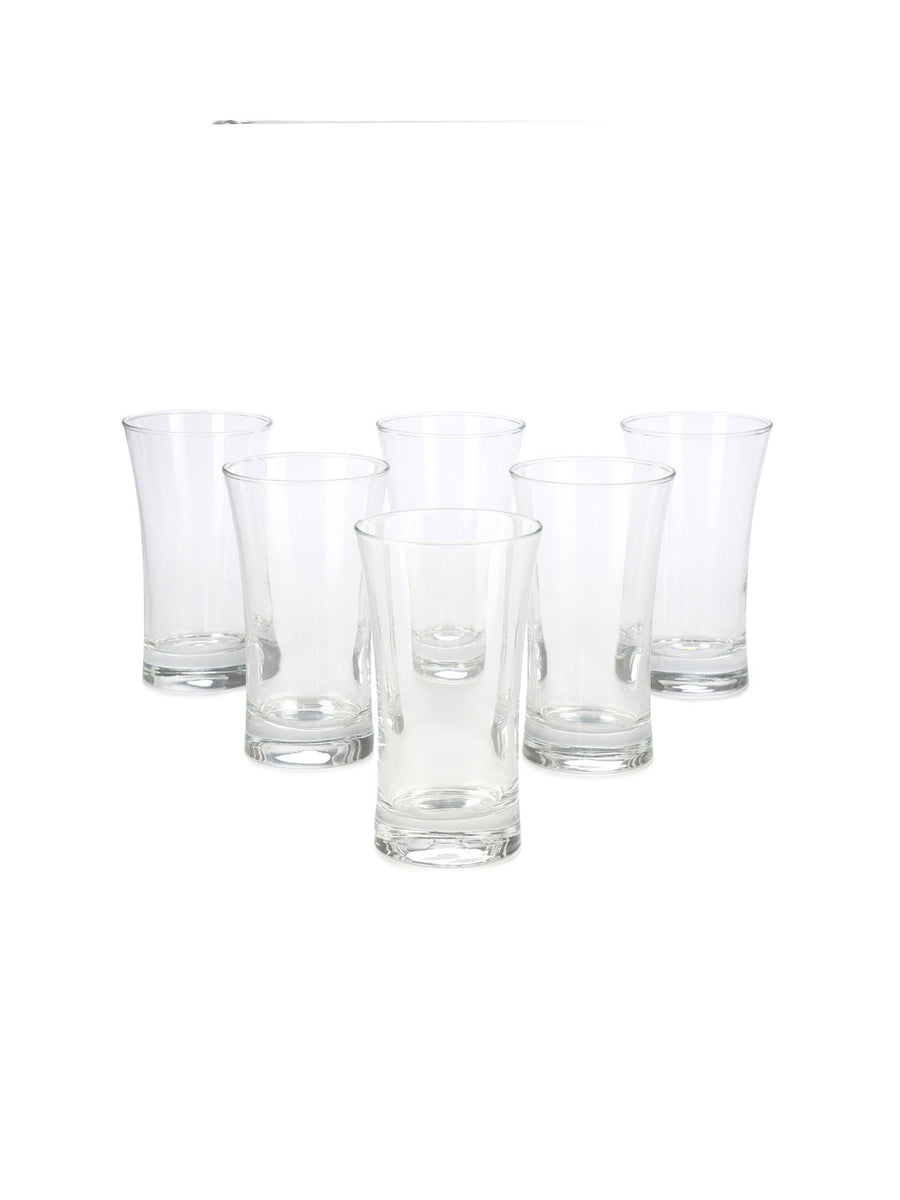 Azur Long Drink Tumbler Set Of 6 300Ml (Multicolor)