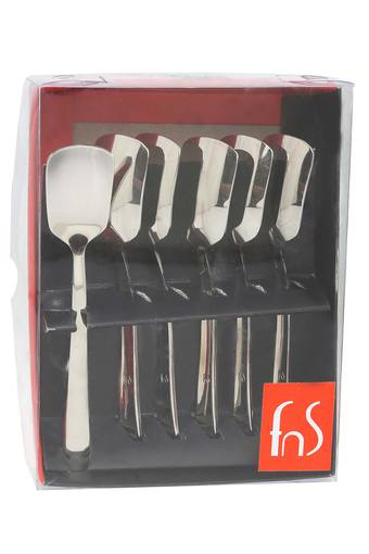 FNS Slimline Ice Cream Spoon Set Of 6