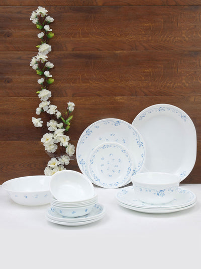 Corelle Dinner Set 21 Piece (White)